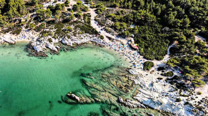kavourotrypes beach greece