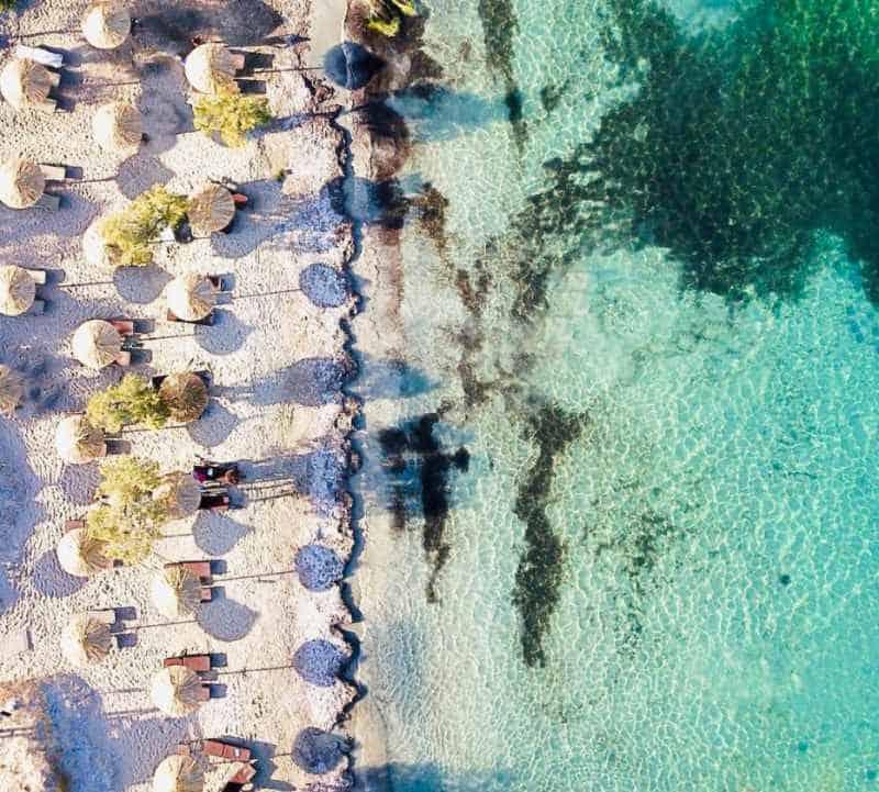 kolibithers beach paros greece island