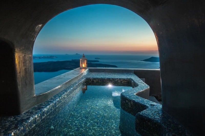 ventus paradiso santorini villa